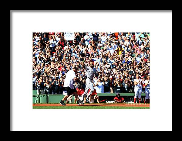 American League Baseball Framed Print featuring the photograph Derek Parks by Elsa