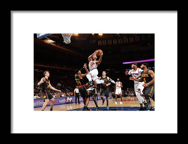 Nba Pro Basketball Framed Print featuring the photograph Derrick Rose by Jesse D. Garrabrant
