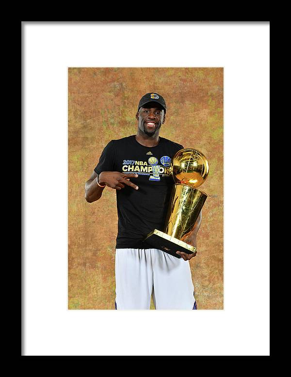 Playoffs Framed Print featuring the photograph Draymond Green by Jesse D. Garrabrant