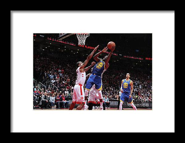 Playoffs Framed Print featuring the photograph Draymond Green by Nathaniel S. Butler