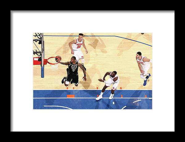 Nba Pro Basketball Framed Print featuring the photograph Eric Bledsoe by Nathaniel S. Butler