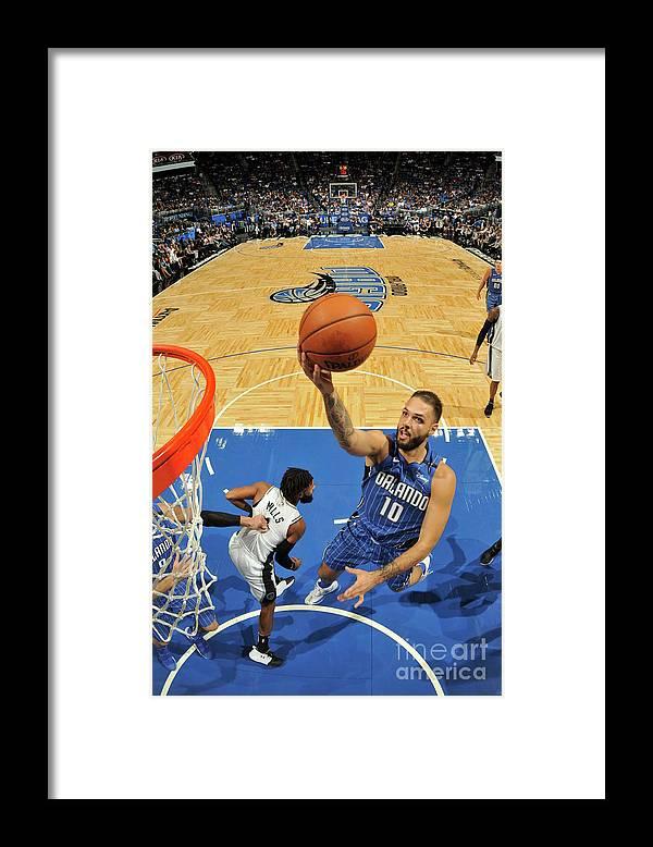 Nba Pro Basketball Framed Print featuring the photograph Evan Fournier by Fernando Medina