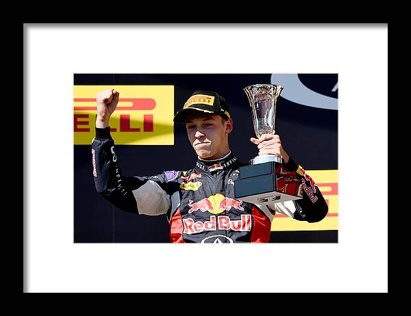 Formula One Grand Prix Framed Print featuring the photograph F1 Grand Prix of Hungary by Lars Baron