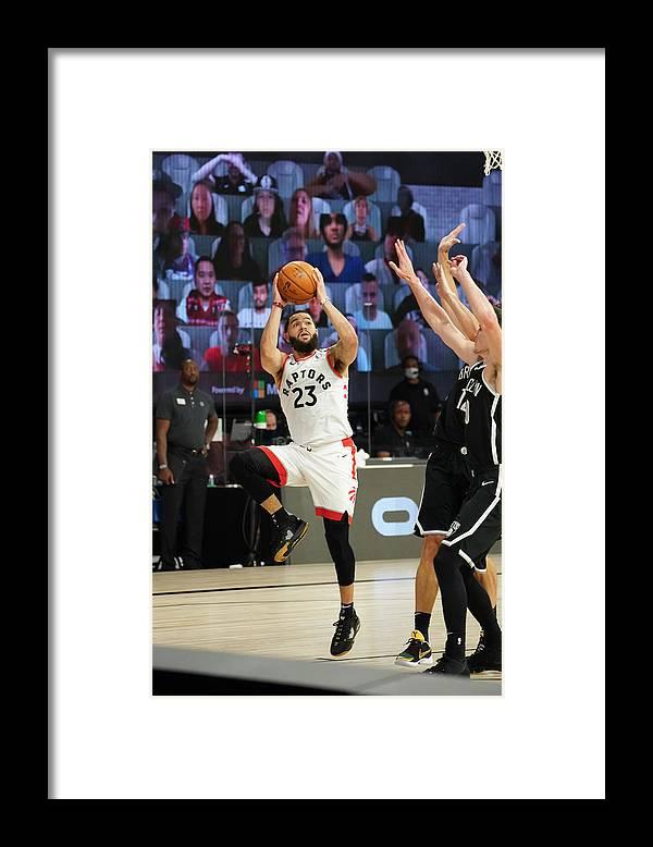 Playoffs Framed Print featuring the photograph Fred Vanvleet by Jesse D. Garrabrant