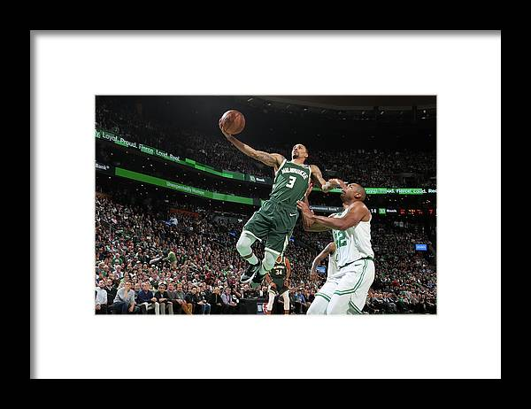 Playoffs Framed Print featuring the photograph George Hill by Nathaniel S. Butler