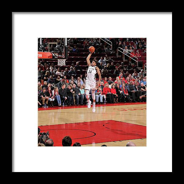 Nba Pro Basketball Framed Print featuring the photograph Giannis Antetokounmpo by Bill Baptist