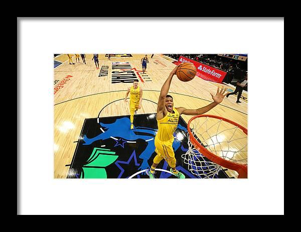 Atlanta Framed Print featuring the photograph Giannis Antetokounmpo by Joe Murphy