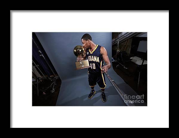 Event Framed Print featuring the photograph Glenn Robinson by Jennifer Pottheiser