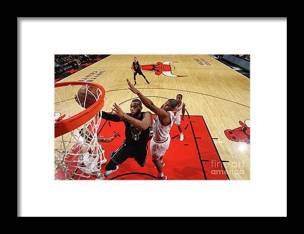 Nba Pro Basketball Framed Print featuring the photograph Greg Monroe by Gary Dineen