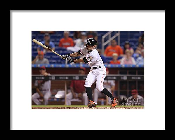 People Framed Print featuring the photograph Ichiro Suzuki and Babe Ruth by Rob Foldy