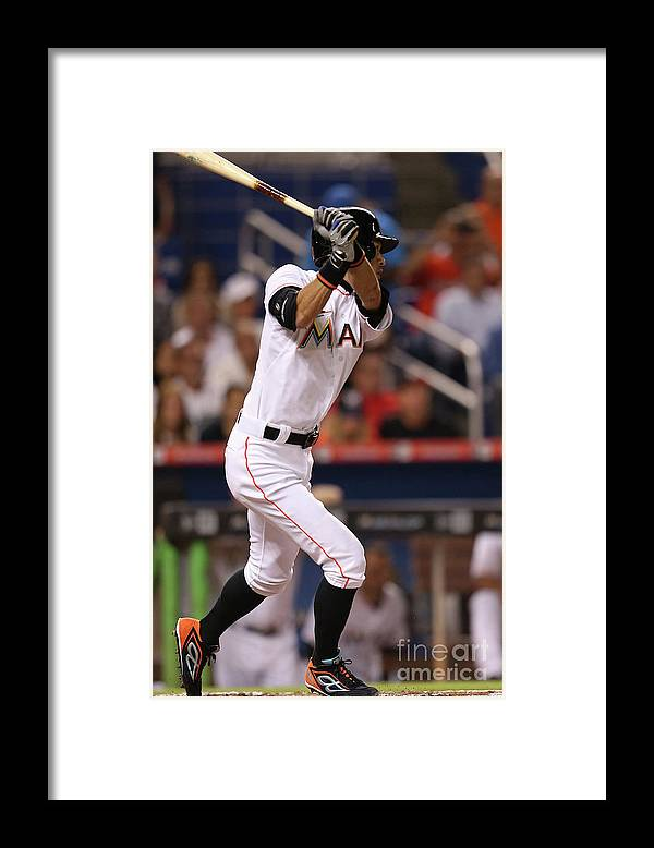 Second Inning Framed Print featuring the photograph Ichiro Suzuki by Rob Foldy