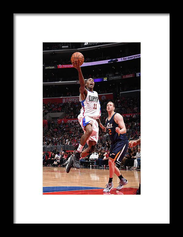 Nba Pro Basketball Framed Print featuring the photograph Jamal Crawford by Andrew D. Bernstein