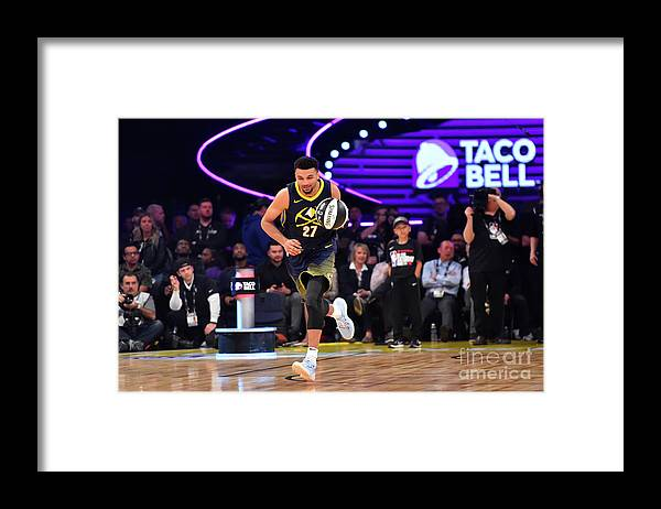 Event Framed Print featuring the photograph Jamal Murray by Jesse D. Garrabrant