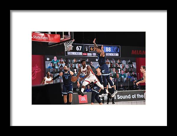 Nba Pro Basketball Framed Print featuring the photograph Jimmy Butler by David Dow