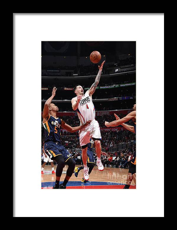 Nba Pro Basketball Framed Print featuring the photograph J.j. Redick by Andrew D. Bernstein