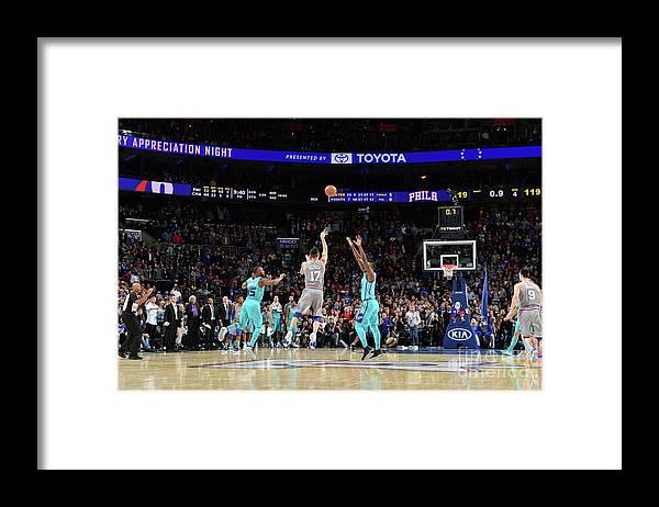 Nba Pro Basketball Framed Print featuring the photograph J.j. Redick by Jesse D. Garrabrant