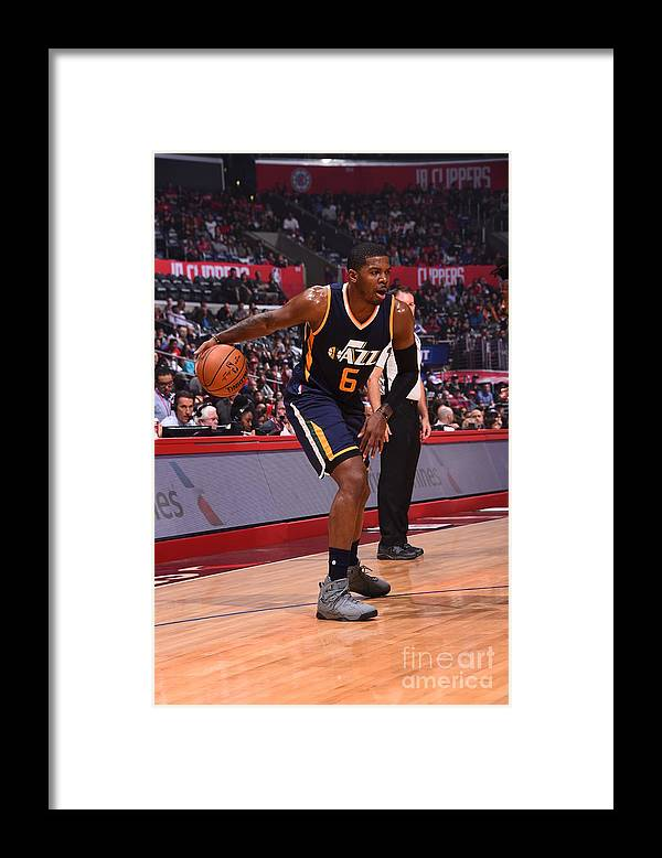 Nba Pro Basketball Framed Print featuring the photograph Joe Johnson by Andrew D. Bernstein