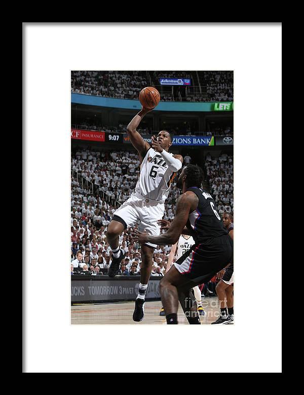 Playoffs Framed Print featuring the photograph Joe Johnson by Melissa Majchrzak