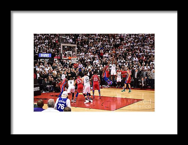Playoffs Framed Print featuring the photograph Kawhi Leonard by David Dow