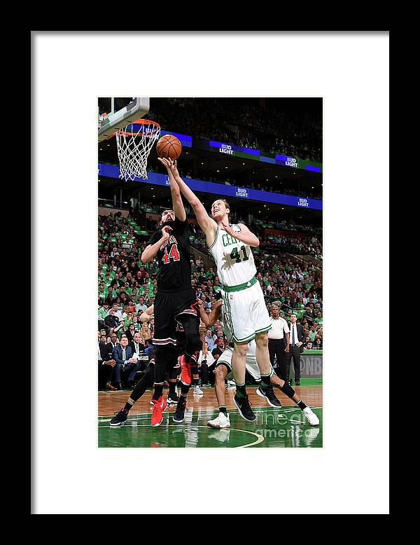 Playoffs Framed Print featuring the photograph Kelly Olynyk by Brian Babineau