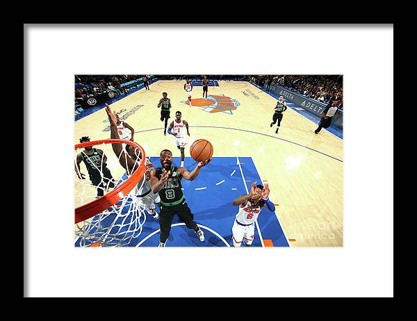 Kemba Walker Framed Print featuring the photograph Kemba Walker by Nathaniel S. Butler