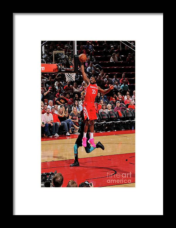 Nba Pro Basketball Framed Print featuring the photograph Kenneth Faried by Bill Baptist