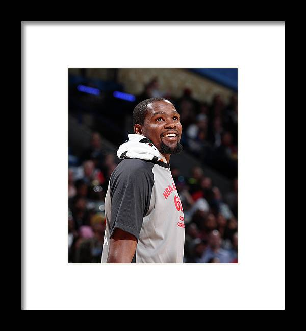 Event Framed Print featuring the photograph Kevin Durant by Nathaniel S. Butler