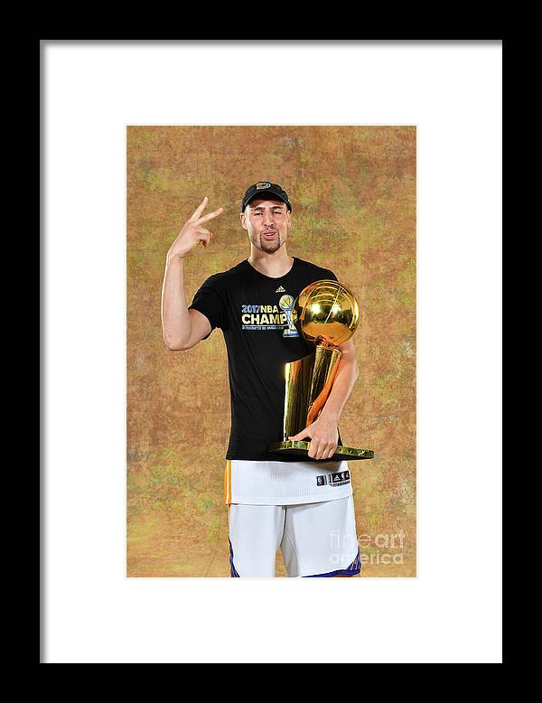 Playoffs Framed Print featuring the photograph Klay Thompson by Jesse D. Garrabrant