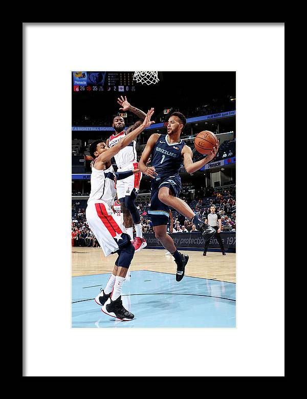 Nba Pro Basketball Framed Print featuring the photograph Kyle Anderson by Joe Murphy