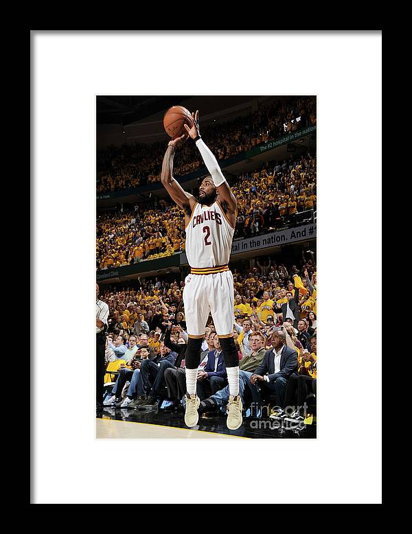 Playoffs Framed Print featuring the photograph Kyrie Irving by David Liam Kyle