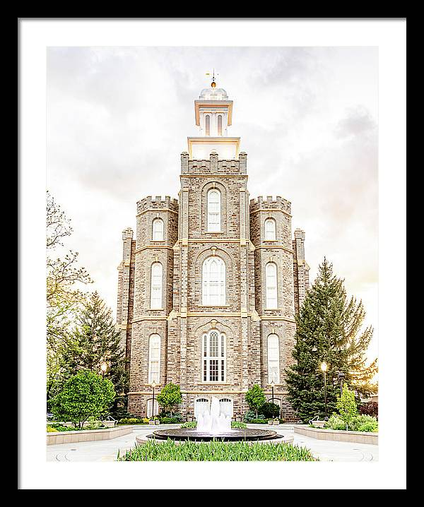 Logan Utah Temple by Troy DeSpain