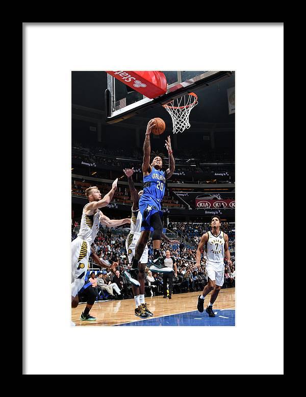 Nba Pro Basketball Framed Print featuring the photograph Markelle Fultz by Fernando Medina