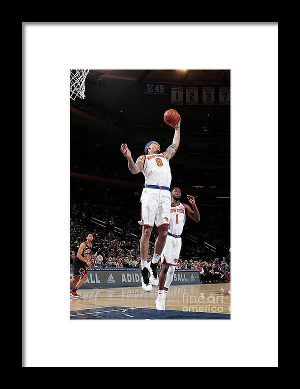 Michael Beasley Framed Print featuring the photograph Michael Beasley by Nathaniel S. Butler