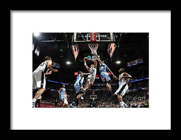 Playoffs Framed Print featuring the photograph Pau Gasol by Mark Sobhani