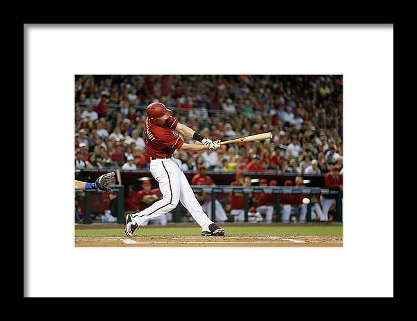 People Framed Print featuring the photograph Paul Goldschmidt by Christian Petersen
