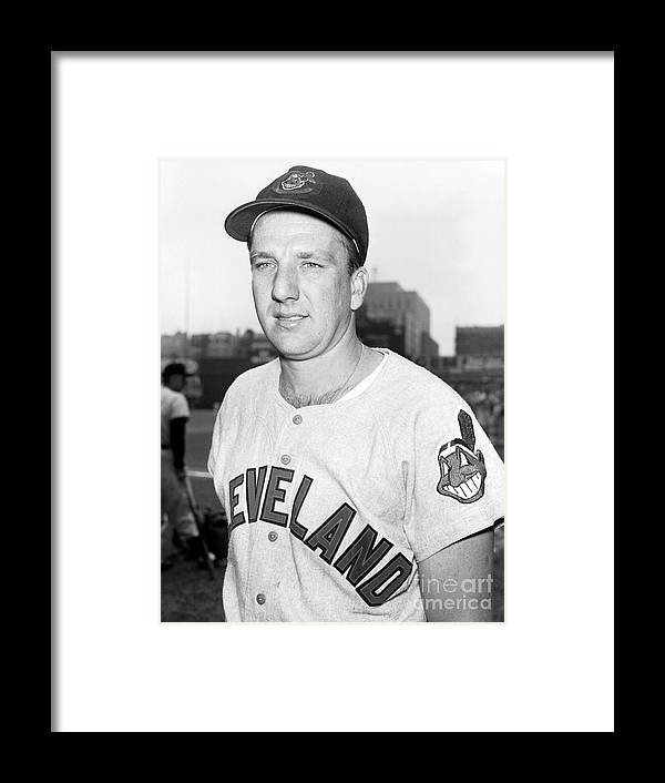 People Framed Print featuring the photograph Ralph Kiner by Kidwiler Collection