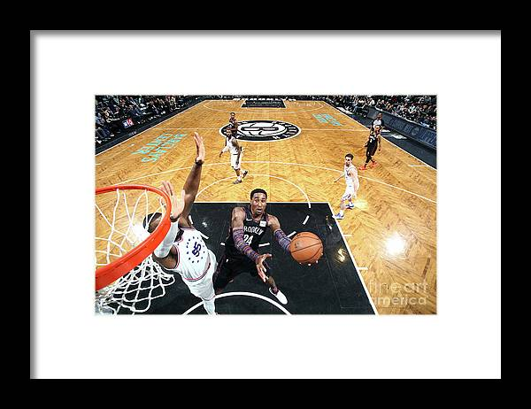 Playoffs Framed Print featuring the photograph Rondae Hollis-jefferson by Nathaniel S. Butler