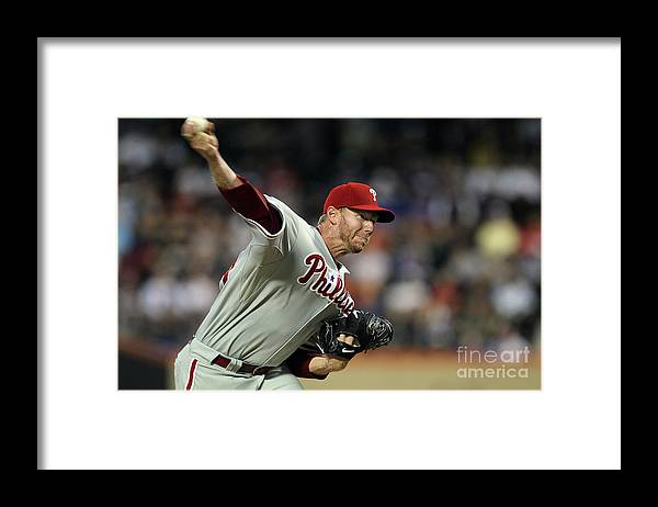 Residential District Framed Print featuring the photograph Roy Halladay by Jim Mcisaac