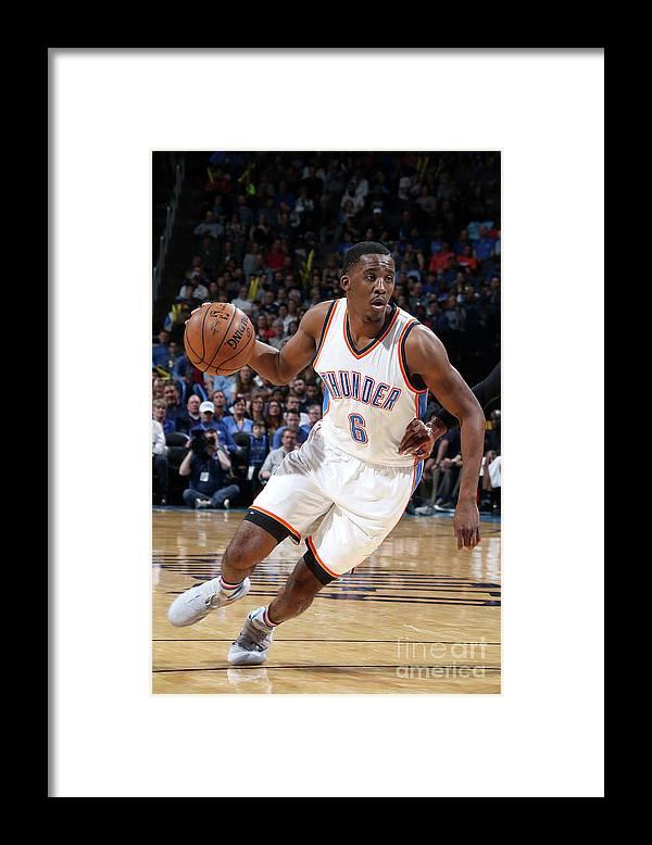 Nba Pro Basketball Framed Print featuring the photograph Semaj Christon by Layne Murdoch