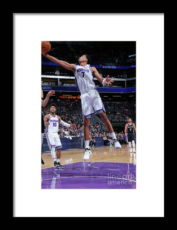 Nba Pro Basketball Framed Print featuring the photograph Skal Labissiere by Rocky Widner
