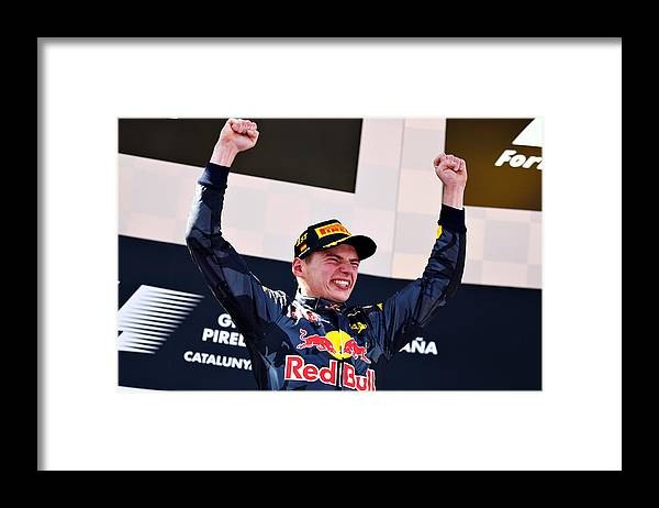 Formula One Grand Prix Framed Print featuring the photograph Spanish F1 Grand Prix by Clive Mason