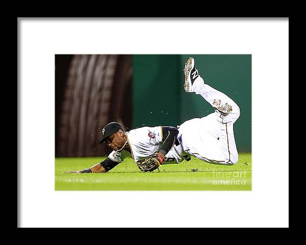 People Framed Print featuring the photograph Starling Marte by Jared Wickerham