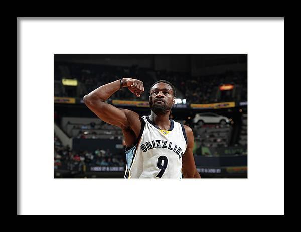 Nba Pro Basketball Framed Print featuring the photograph Tony Allen by Joe Murphy