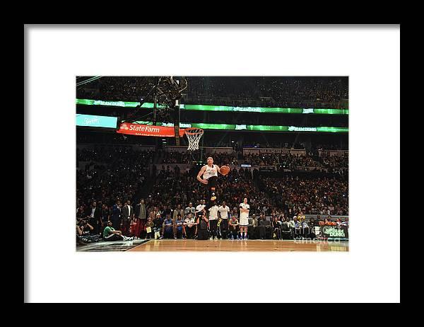 Event Framed Print featuring the photograph Zach Lavine by Jesse D. Garrabrant