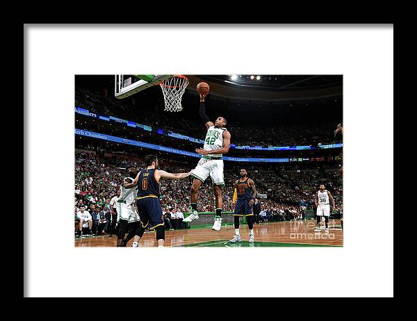 Playoffs Framed Print featuring the photograph Al Horford by Brian Babineau