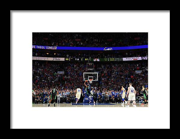 Playoffs Framed Print featuring the photograph Al Horford by Jesse D. Garrabrant