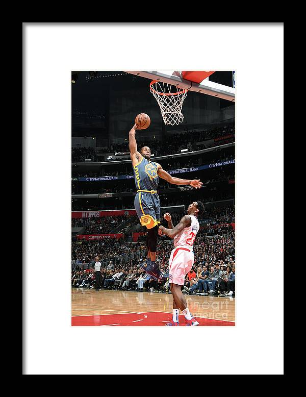 Nba Pro Basketball Framed Print featuring the photograph Andre Iguodala by Andrew D. Bernstein