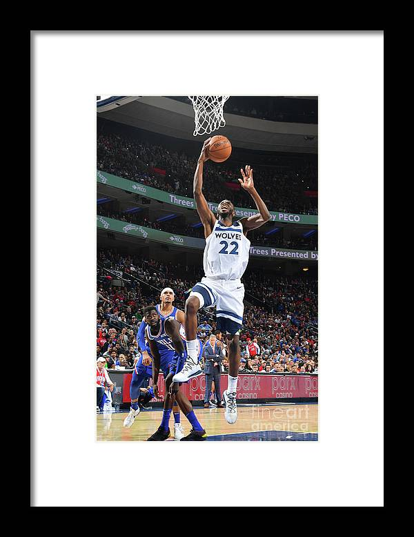 Nba Pro Basketball Framed Print featuring the photograph Andrew Wiggins by Jesse D. Garrabrant