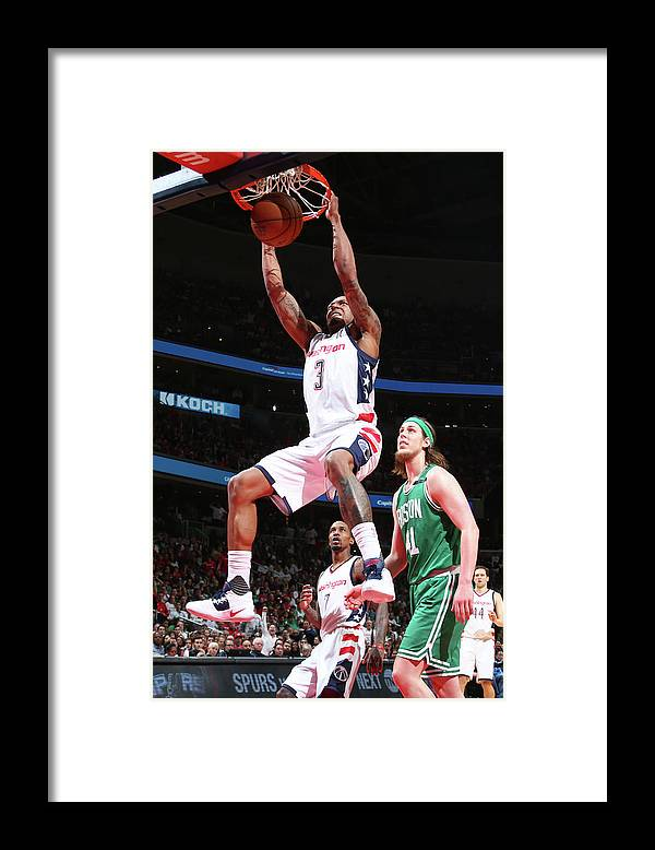 Playoffs Framed Print featuring the photograph Bradley Beal by Ned Dishman