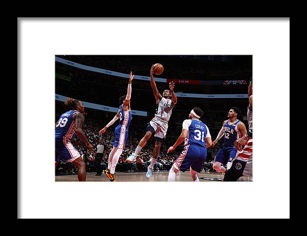 Playoffs Framed Print featuring the photograph Bradley Beal by Stephen Gosling